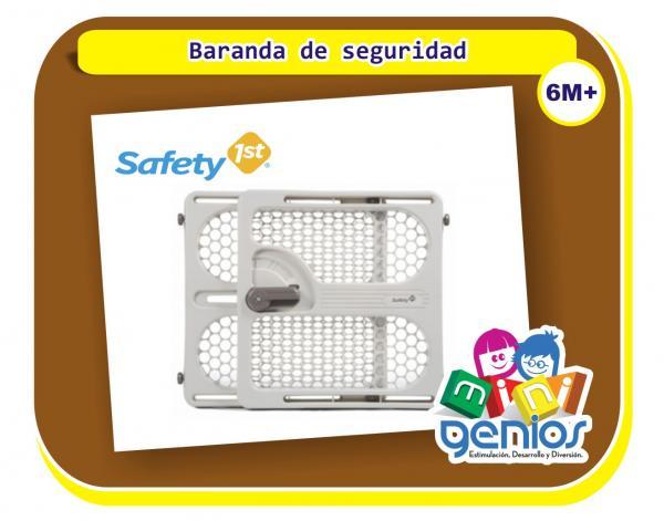 Baranda de seguridad para beb s mini genios for Barandas de seguridad